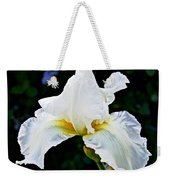 White Iris At Pilgrim Place In Claremont-california Weekender Tote Bag