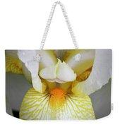 White Iris Study No 1 Weekender Tote Bag