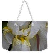 White Iris Weekender Tote Bag