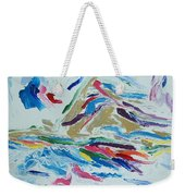 White Light Weekender Tote Bag