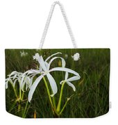 White Lilies In Bloom Weekender Tote Bag
