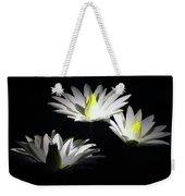 White Lillies Weekender Tote Bag