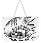 White Lily From The Land Of Absurd Weekender Tote Bag