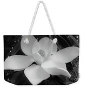 White - Magnolia - Beauty Weekender Tote Bag