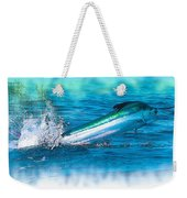 White Marlin -  From The Outer Banks Of North Carolina To Cape M Weekender Tote Bag