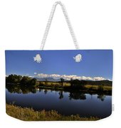 White Mountain Panorama Weekender Tote Bag