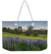 White Mountain Sunset Weekender Tote Bag