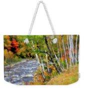 White Mountains Brook Weekender Tote Bag