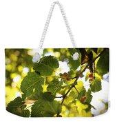 White Mulberries Weekender Tote Bag