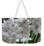 White Narcissi Spring Flower 2 Weekender Tote Bag