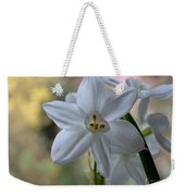 White Narcissi Spring Flowers 3 Weekender Tote Bag