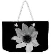 White On Black Weekender Tote Bag