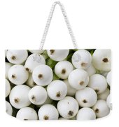 White Onions Weekender Tote Bag by John Trax