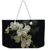 White Orchid And Reflection Weekender Tote Bag