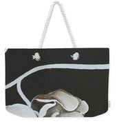 White Orchid Third Section Weekender Tote Bag