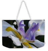 White Orchid With Yellow And Purple Weekender Tote Bag