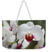 White Orchids 2 Weekender Tote Bag