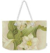 White Orchids   Eucharis Sanderiana Weekender Tote Bag