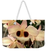 White Orchids With A Hint Of Pink Weekender Tote Bag