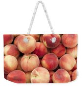 White Peaches Weekender Tote Bag