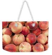 White Peaches Weekender Tote Bag by John Trax