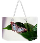 White Peacock Butterfly 2 Weekender Tote Bag