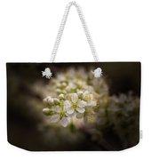 White Plum Blossom- 2 Weekender Tote Bag
