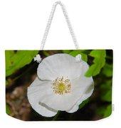 White Poppies Weekender Tote Bag