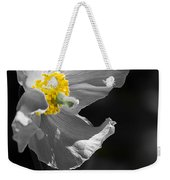 White Poppy Weekender Tote Bag