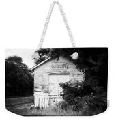 White Post Weekender Tote Bag