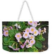 White Primroses Weekender Tote Bag