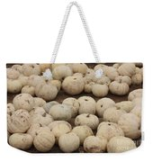 White Pumpkins Weekender Tote Bag