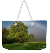 White Rainbow Weekender Tote Bag