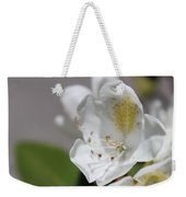 White Reaching Out Weekender Tote Bag
