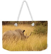 White Rhino Weekender Tote Bag