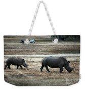 White Rhino's Weekender Tote Bag