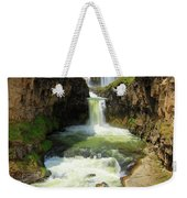 White River Falls D Weekender Tote Bag