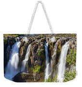 White River Falls In Tygh Valley Weekender Tote Bag