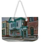 White River Junction Street Weekender Tote Bag