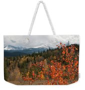 White River National Forest Autumn Panorama Weekender Tote Bag