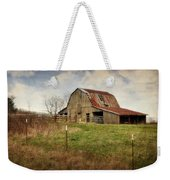 White River Trace Barn 2 Weekender Tote Bag
