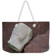 White Rock On Red Rock Number 1 Weekender Tote Bag