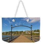 White Rock Pier In Bc Canada Weekender Tote Bag
