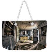 White Room, Yellow Couch, Real Estate Series Weekender Tote Bag