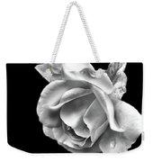 White Rose Aglow Weekender Tote Bag