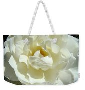 White Rose Art Prints Summer Sunlit Roses Baslee Troutman Weekender Tote Bag