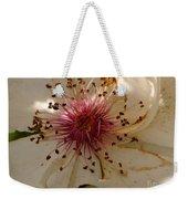 White Rose Centerpiece Weekender Tote Bag