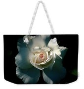White Rose In The Shadows Weekender Tote Bag by Patricia Strand
