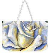 White Rose Two Weekender Tote Bag