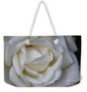White Rose2 Weekender Tote Bag
